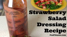 Strawberry Salad Dressing Recipe I love using this on my sandwiches!