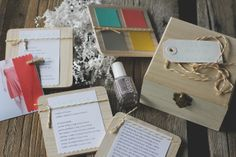 DIY: BRIDESMAID BOXES :: Amanda Cherie Photography