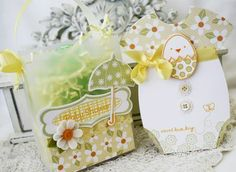 Easter ensemble by Melissa Phillips for Papertrey Ink (February 2012).
