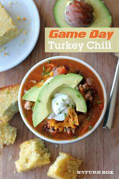 Game Day Turkey Chili