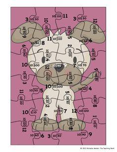 Division Puzzle Covers Divisor 10