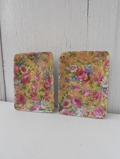 Chintz Trays,made in Occupied Japan