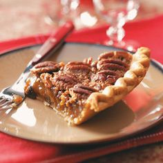 Mayan Chocolate Pecan Pie Recipe from Taste of Home -- shared by Chris Michalowski of Dallas, Texas