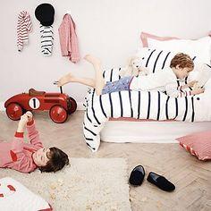 Breton Stripe Bed Linen   The White Company