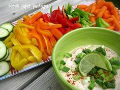 Dips Fruit & Vegetable