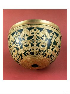 Gold Openwork for a Varnished Bowl from Schwazenbrach Celtic Art, 5th Century BC