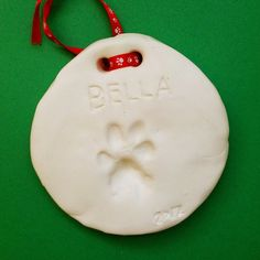 Bella's pawprint 2012