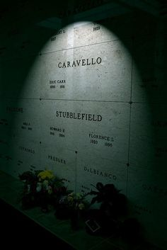 Eric Carr Cedar Hill Mausoleum