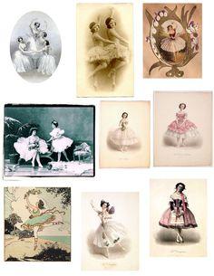 Ballerinas Clipart
