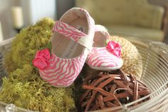 Baby Shoes Soft Soled Sweet Pink Sizes 14 by BitsyBlossom on Etsy, $30.00