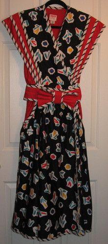 Jeanne Marc Vintage Dress | eBay