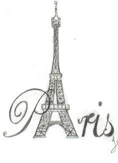 I love the Eiffel Tower