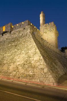 ✭ Old City, Tower of David Museum, Jerusalem, Israel
