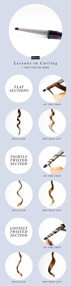 """Remember the first time you saw a curling wand and thought, """"how am I supposed to curl my ends without a clamp?!"""" Time to embrace the rock n' roll straight-end look or master a heat glove, friends, because wands hold the secrets to some gorgeous hair."""