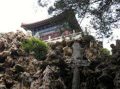 Garden pavilion in the Forbidden City.