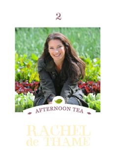 Join an exclusive afternoon tea party at Clifton Nurseries in London on the 28th November hosted by Gardener's World and Chelsea Flower Show presenter Rachel de Thame and the ethical tea company Clipper Teas in aid of the national charity Contact the Elderly.