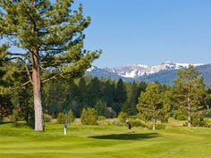 Tahoe is by far one of the best places to tee off with just under 20 golf courses. Mountain-style courses with sweeping views await. >> http://www.frontdoor.com/photos/lake-tahoe-adventures?soc=pindhm