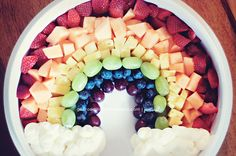 marshmallow, fruit salads, food, fruit platters, fruit dips, rainbow, kid, parti, fruit trays