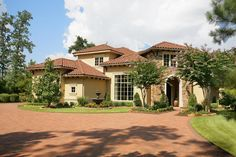 A Tuscan villa in the heart of Texas. Superior craftsmanship and landscaping. Coldwell Banker United, Realtors The Woodlands, TX