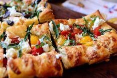 ree drummond, puf pastri, food, pioneer woman, pastri pizza