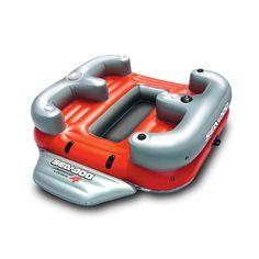 Overton's : Sea-Doo Aqua Lounge 4 Inflatable - Watersports  Lake  Pool Leisure  Party Island Floats : Lake Toys, Lake Rafts, Water Toys, Floating Decks, Rafts