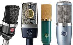 Home recording studio microphones