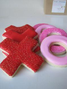 XOXO Valentine's Sugar cookie