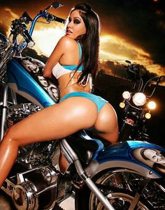 motorcycles on sexy Hot girls