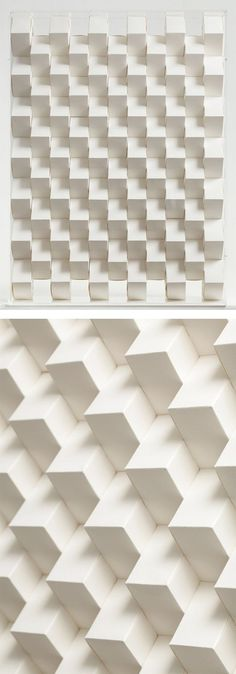 3D Paper Patterns by Benja Harney