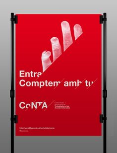 CoNTA – Visual Identity by TwoPoints.Net , via Behance