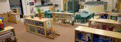 Preschool classroom set-up