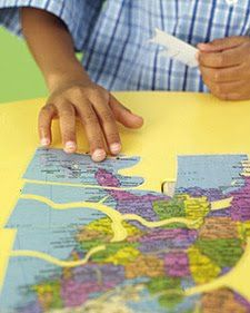 Me On the Map: Unit Study for Preschoolers