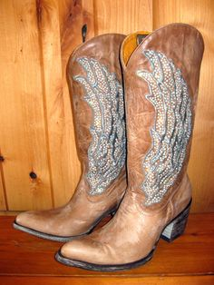 cowgirl boot, style, beauti, amaz boot, gringo boot, shoe, angel boot, boots, guardian angels