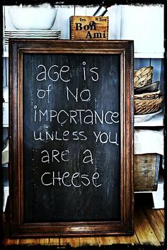 Age is of no importance unless you are a cheese. #birthday #quotes #wishes  http://www.wishesquotes.com/birthday/birthday-wishes