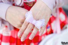 Sweet Lolita Bow Ring