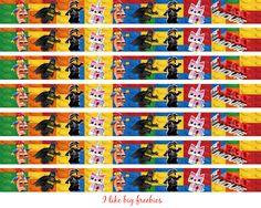 I like big freebies: Lego Movie ribbon transfer