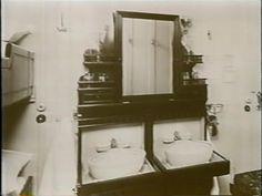 3rd class wash basins on the titanic
