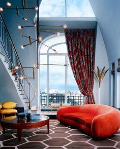 pattern...Paris, appartement, décorateurs Dimore Studio © Mai Linh (AD n°111, septembre-octobre 2012)