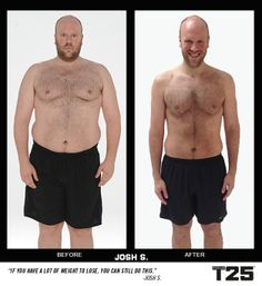 Thanks to the modifier in #FocusT25, Josh was able to start losing weight and transforming his body immediately! You can too! These results were in just 10 weeks and 25 minutes a day!  http://bit.ly/GETFOCUST25 beachbodi