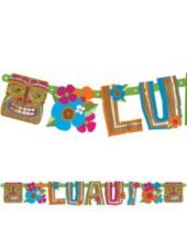 Totally Tiki Letter Banner-Party City