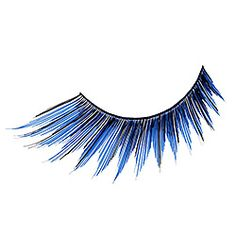Illamasqua False Eye Lashes in Blue #SephoraColorWash