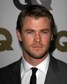 Chris Hemsworth - well he is just all kinds of handsome  isn't he....drool