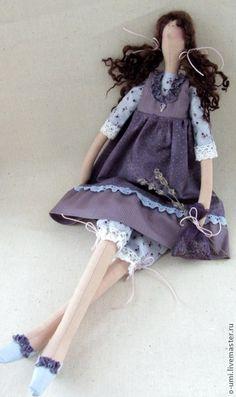 Куклы Тильды ручной работы. Ярмарка Мастеров - ручная работа Лаванда, интерьерная кукла в стиле Тильда. Handmade.