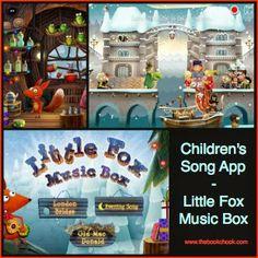 Children's iPad Song App, Little Fox Music Box - creative, educational and FUN