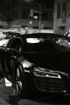 Cool Blacked-out Audi R8