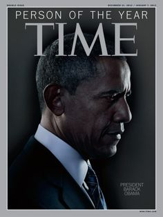 "Rise and Shine | The Obama Diary  President Obama named Time Magazine ""Person of the Year""!  Congratulations!!"