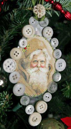 Button Ornament