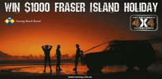 If you love #fraserisland... you could be in the running to win a $1000 holiday thanks to us and the folks at Pat Callinan's 4x4.  Just like both pages on Facebook and you'll be in with a chance.  #eurongbeach #fraserisland #queensland #australia www.eurong.com.au