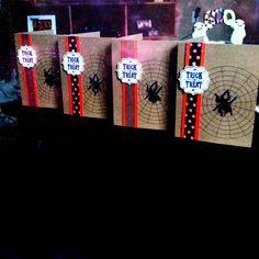 Stampin Up Halloween cards. My paper pumpkin