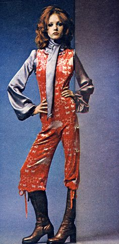 The Sunday Times Magazine, 1970  Outfit by Mr Freedom